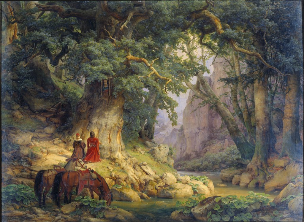 The Thousand-Year-Old Oak, Carl Friedrich Lessing