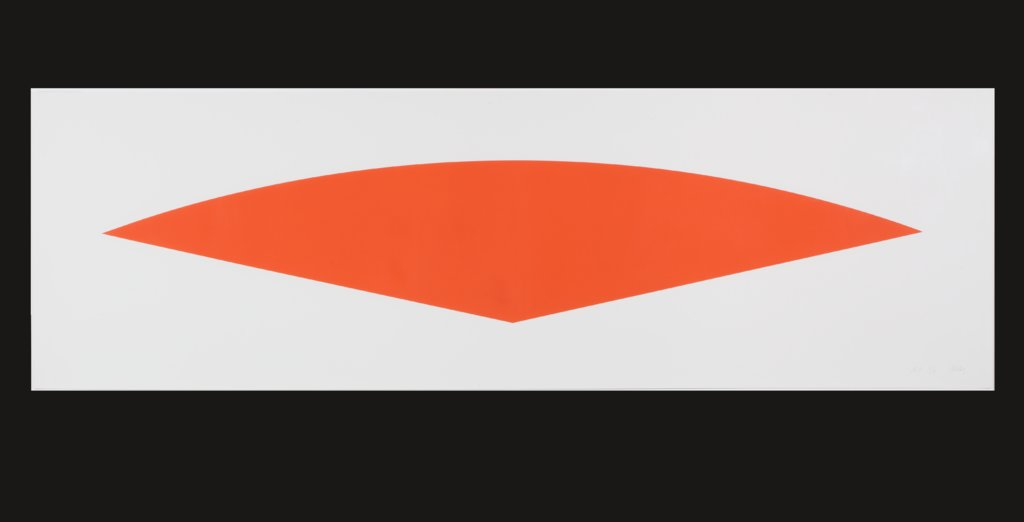 Red Curve (State II), Ellsworth Kelly