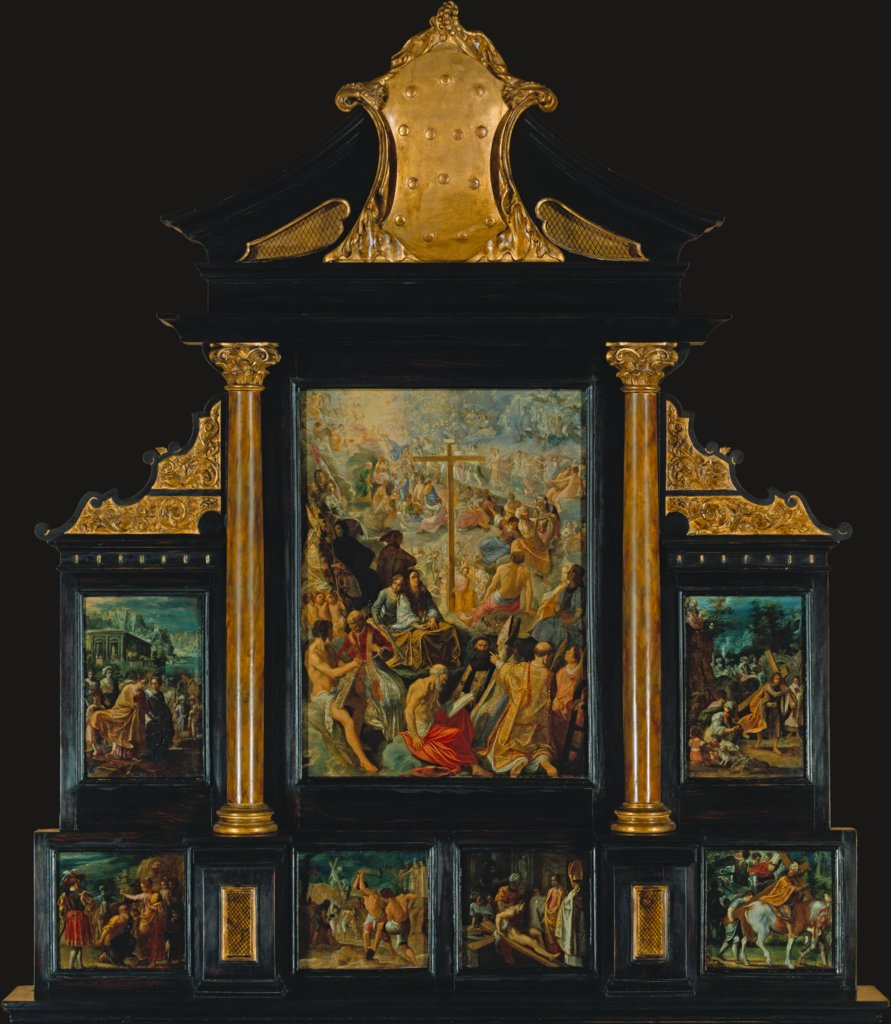 The Altarpiece of the Exaltation of the True Cross, Adam Elsheimer