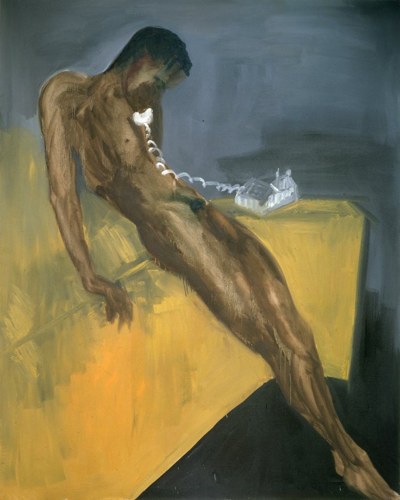 Phone call III, Rainer Fetting