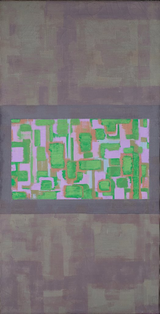 Green – Violet Center, Ad Reinhardt