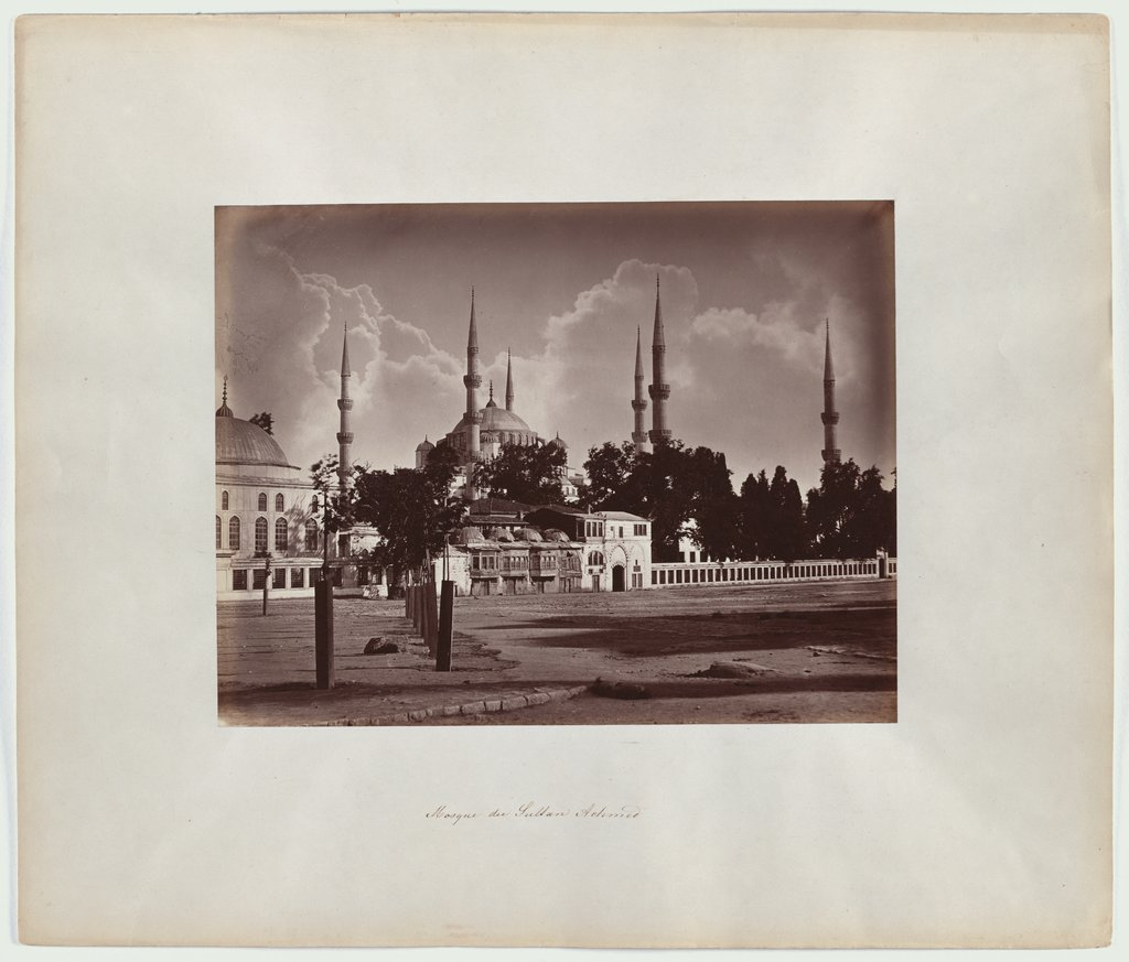Constantinople: The Blue Mosque of Sultan Ahmed I, Abdullah Frères