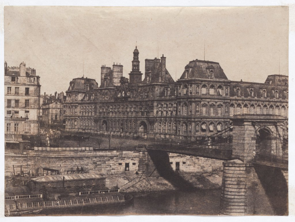 Paris: City Hall, Unknown, 19th century