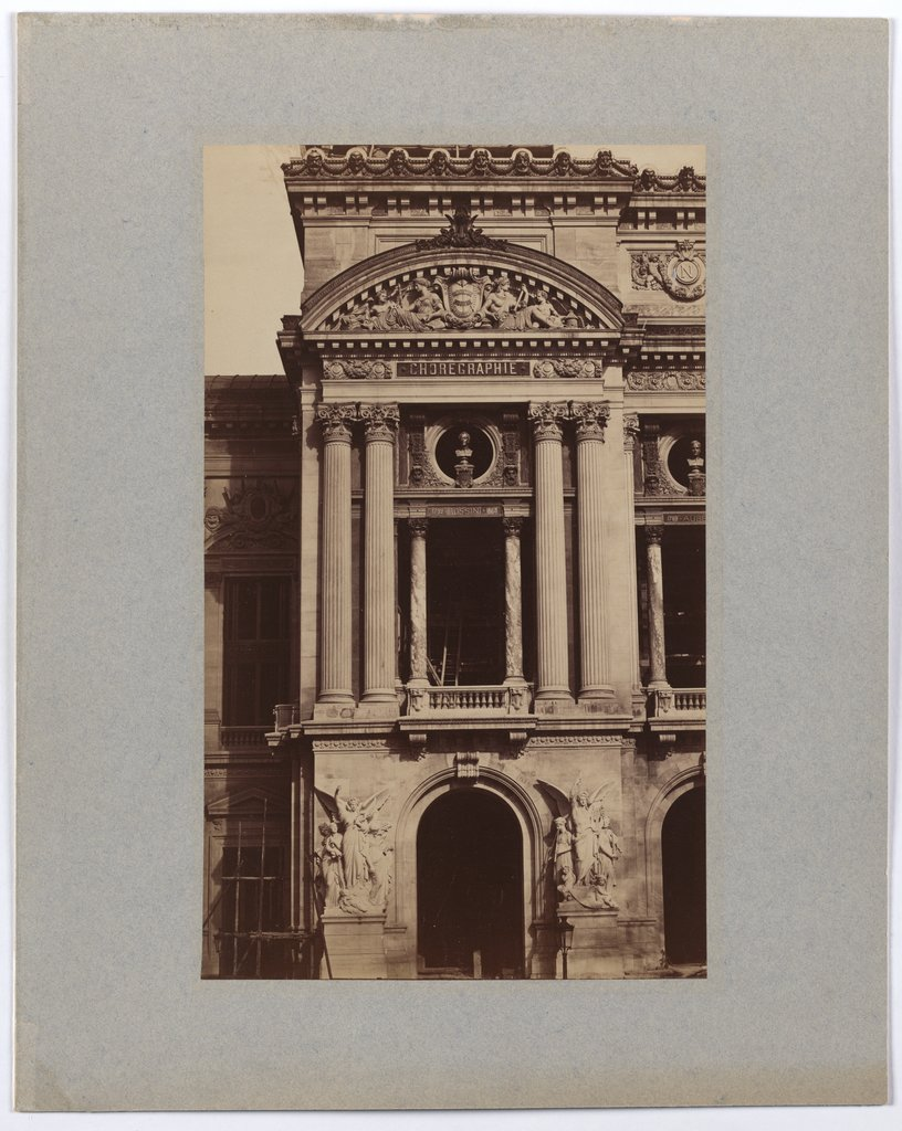 Paris: The Nouvel Opéra, western facade pavilion, Unknown, 19th century