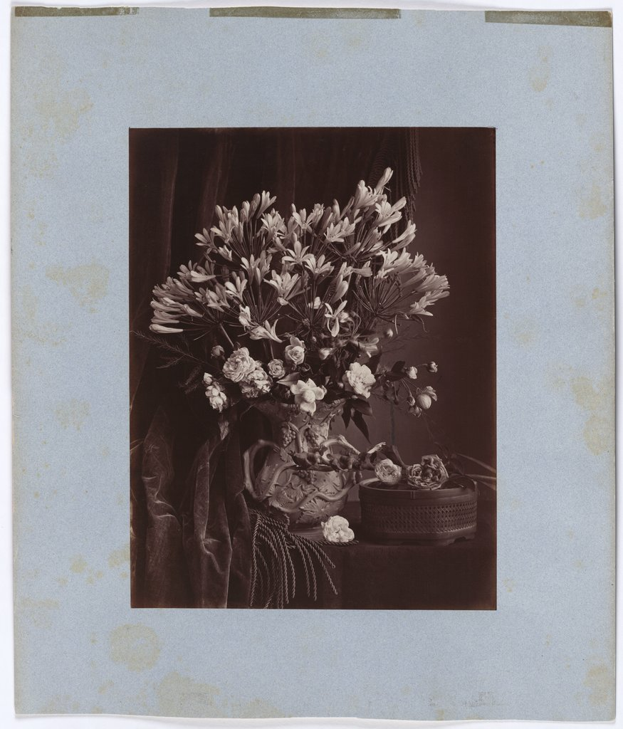 Flower still life, Unknown, 19th century