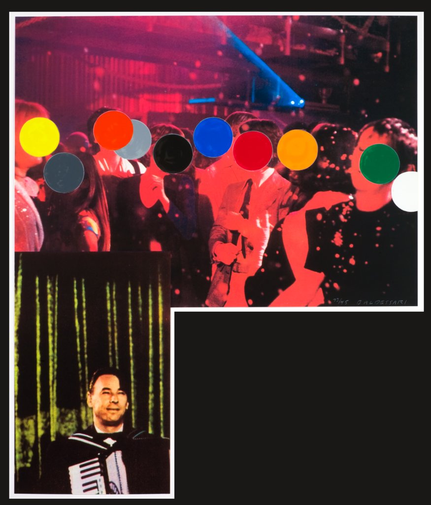 Accordionist (with Crowd), John Baldessari