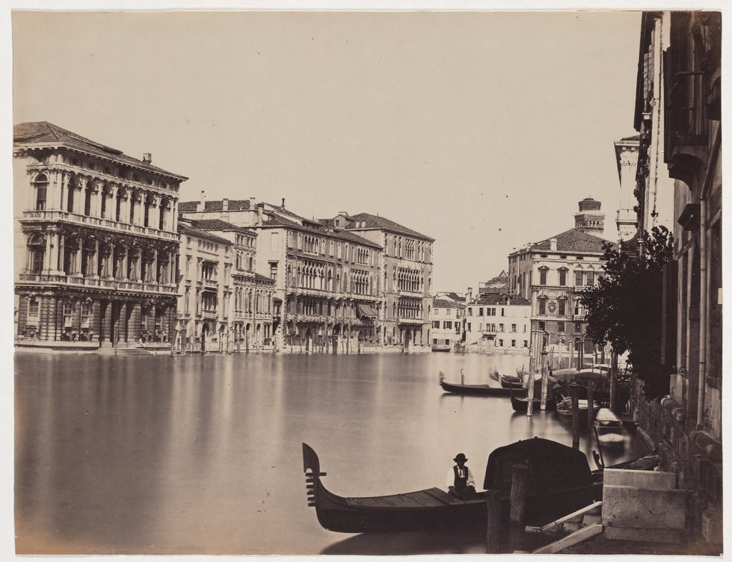 Venice: View of the Grand Canal, Unknown, 19th century