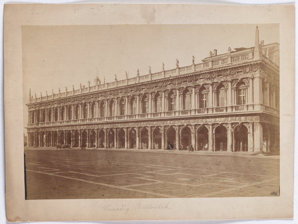 Venice: View of the Biblioteca San Marco, Unknown, 19th century