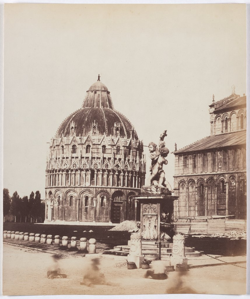 Pisa: View of the Baptistery, Unknown, 19th century