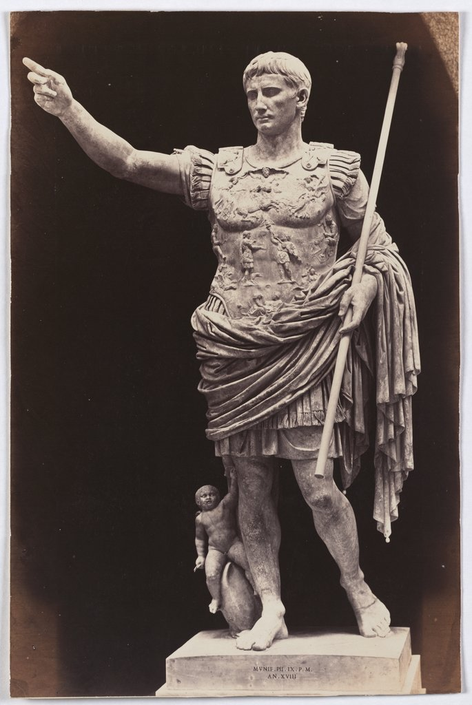 The Augustus of Prima Porta, Unknown, 19th century