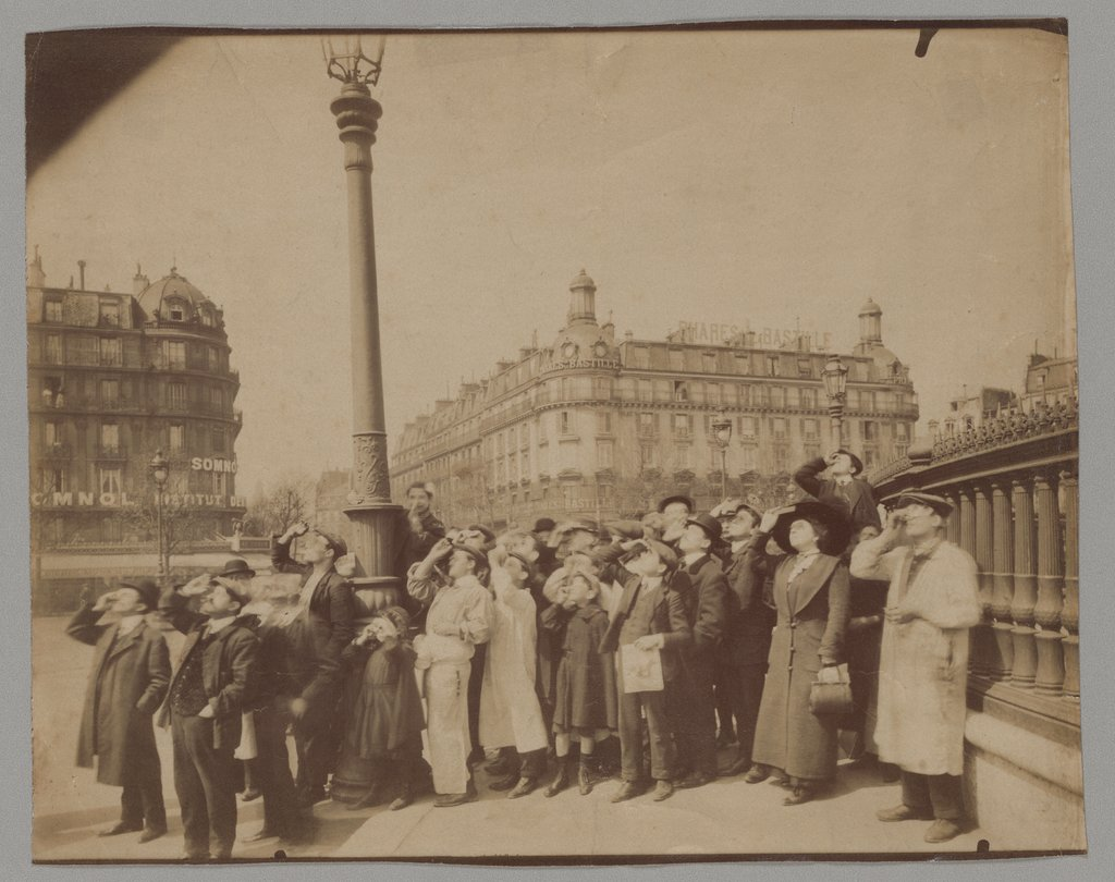 Solar Eclipse, April 1912, Eugène Atget