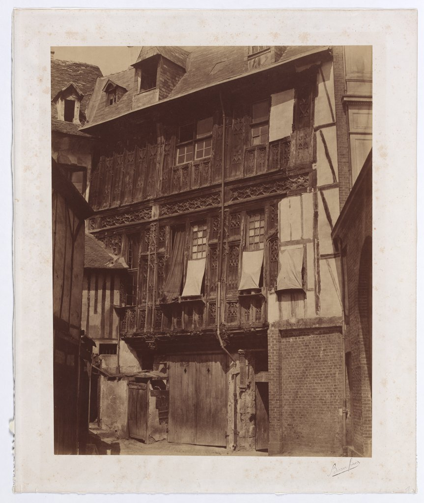 Rouen: Lodgings of the Abesse de Saint-Amand, Bisson Frères