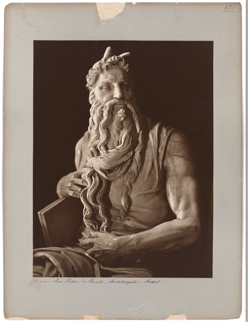 The Moses of Michelangelo, Adolphe Braun