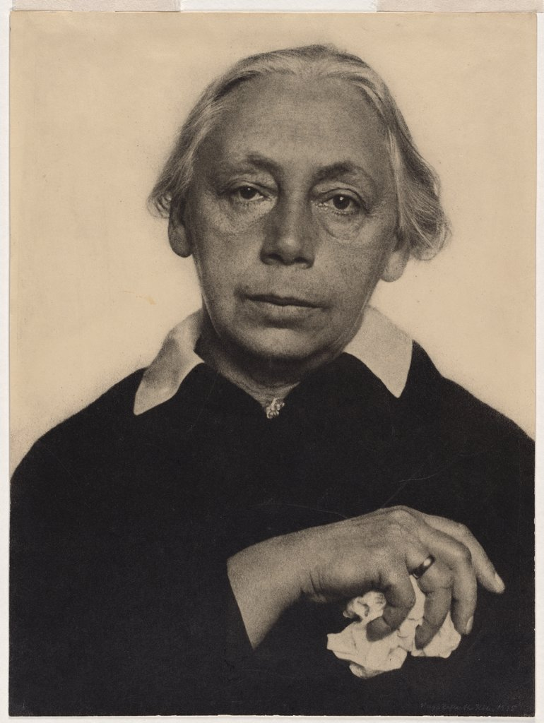 Portrait of Käthe Kollwitz, Hugo Erfurth