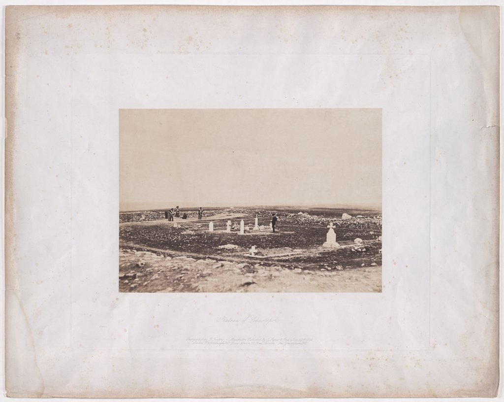 Sebastopol: Graves of English officers, Roger Fenton