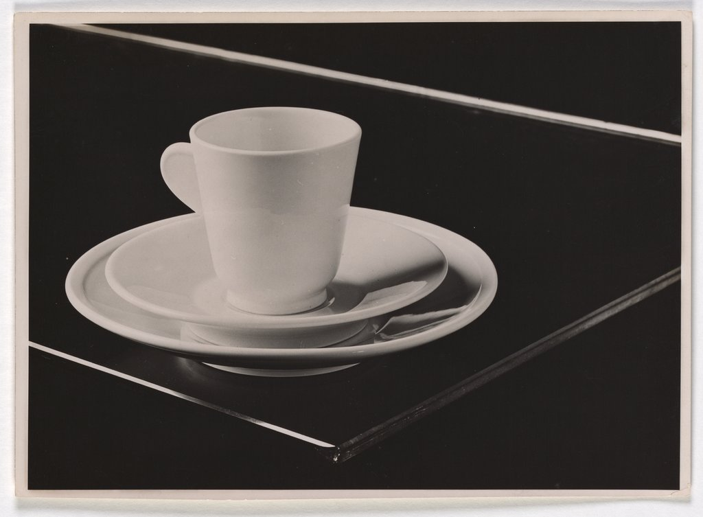 Cup, Saucer and Plate, Hans Finsler