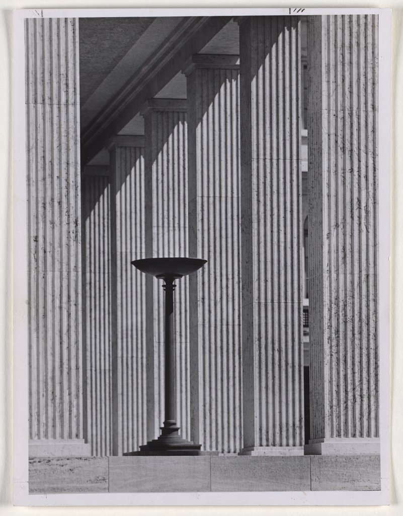Munich: Columns of a Temple of Honour on Königsplatz, Walter Hege