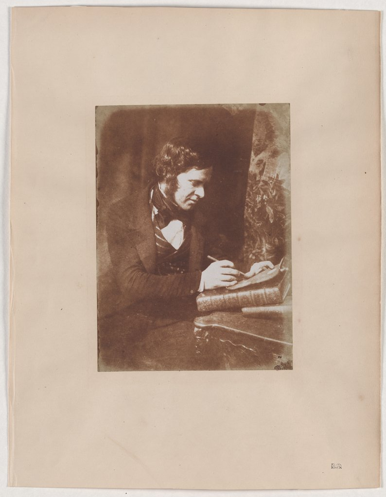 Likeness of the Portraitist Robert Frain, David Octavius Hill