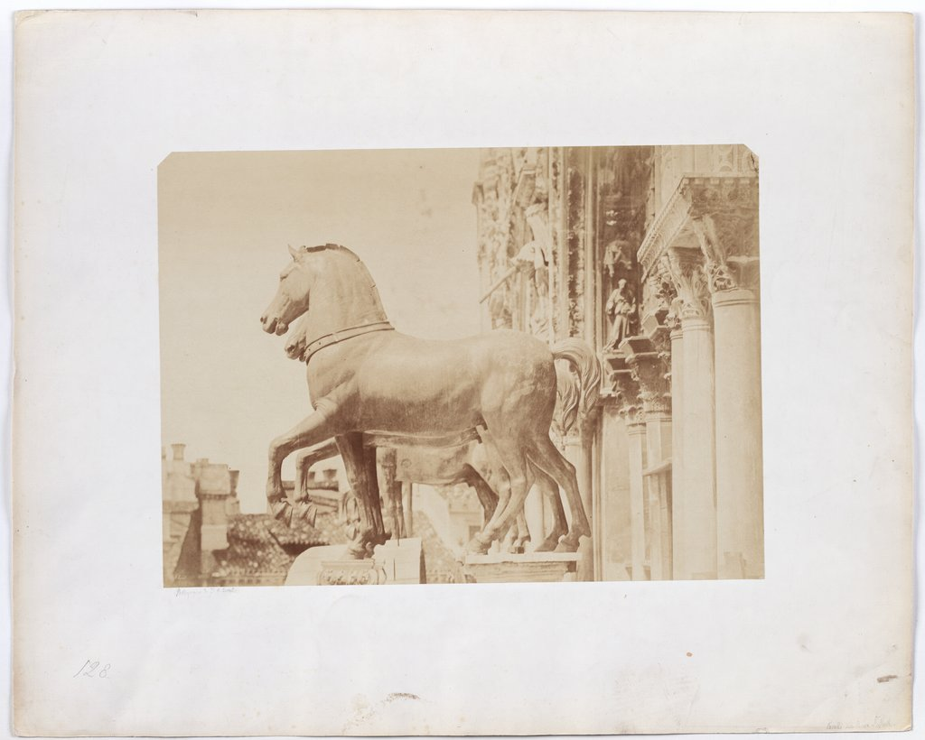 Venice: The horses of San Marco, Jakob August Lorent