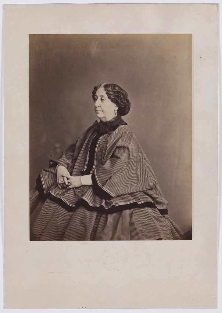 The Writer George Sand, Nadar
