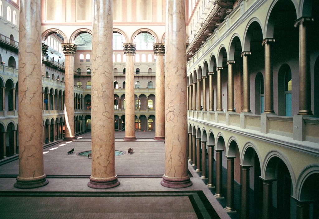 National Building Museum Washington D.C., Candida Höfer