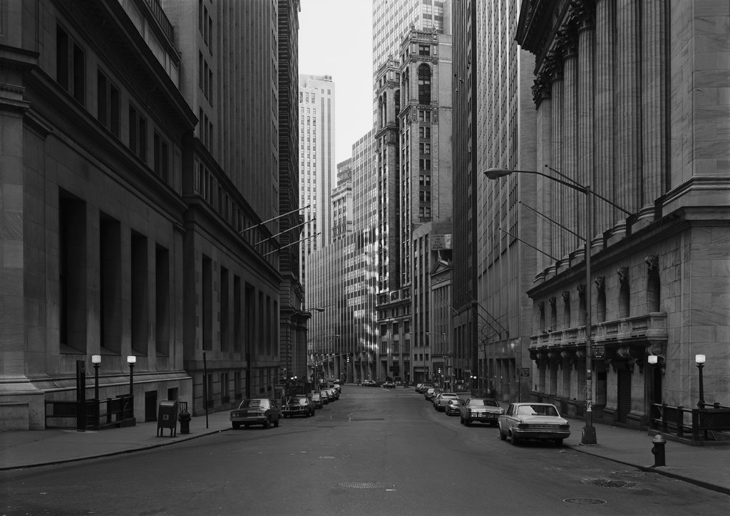 Broad Street, New York/Wall Street, Thomas Struth