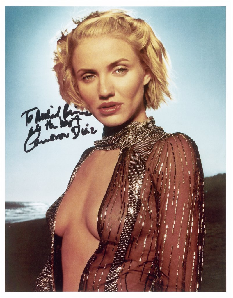 "To Richard Prince, All The Best, Cameron Diaz, from the series ""All The Best"", Richard Prince"