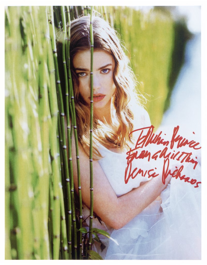 "To Richard Prince, From a wild thing, Denise Richards, from the series ""All The Best"","