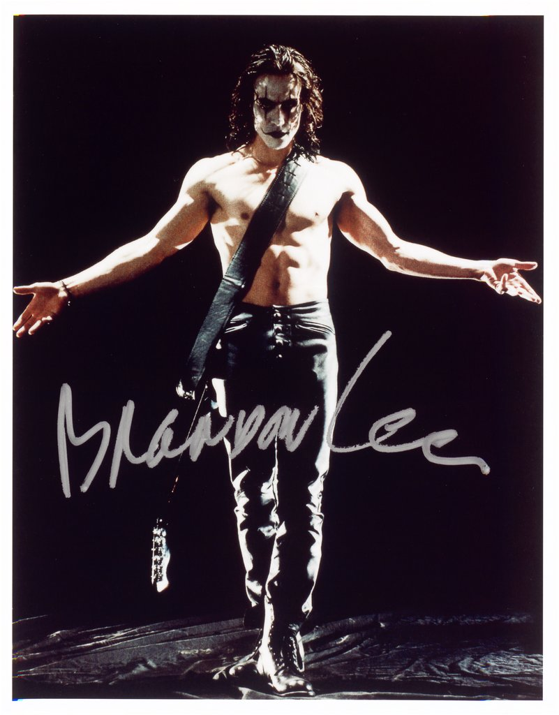 "Brandon Lee, from the series ""All The Best"","