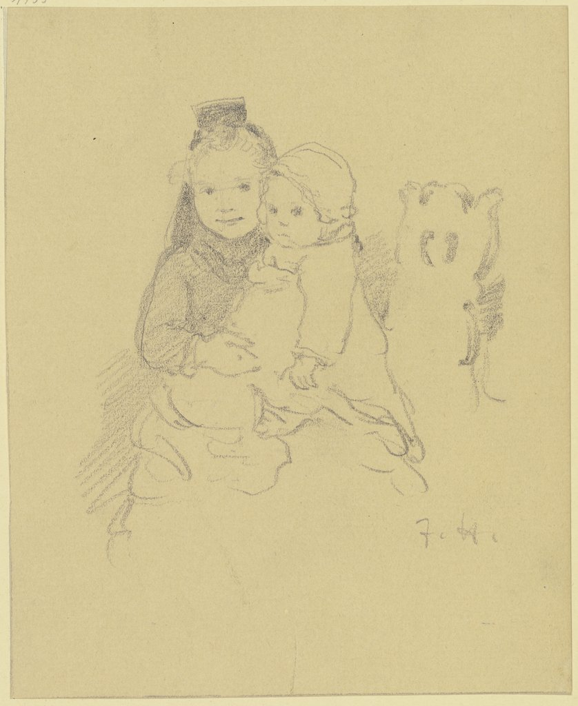 Two children, Jacob Happ