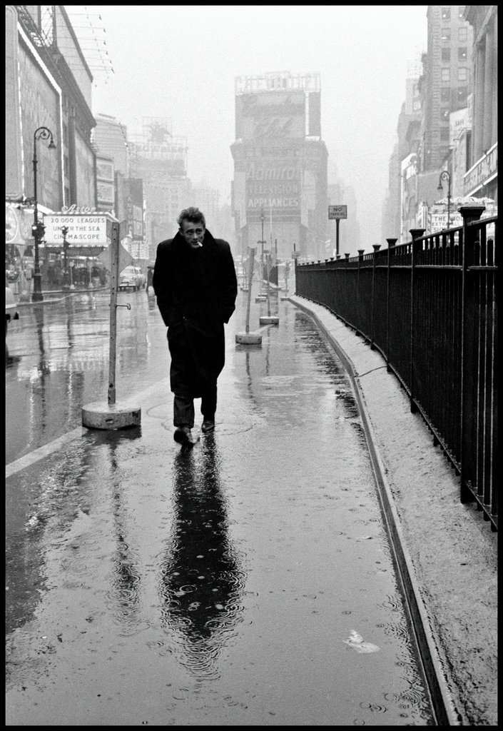 James Dean on Times Square, Dennis Stock