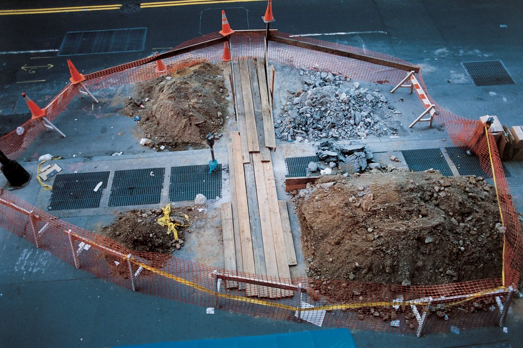 roadworks, Wolfgang Tillmans
