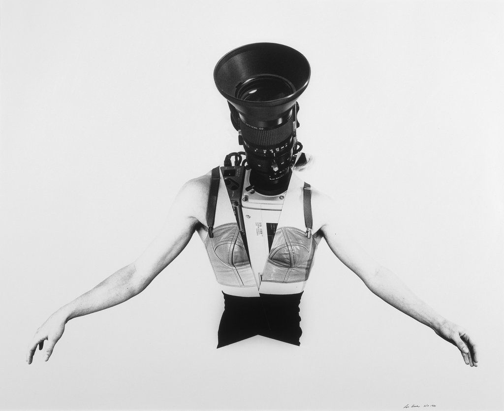 "Camerawoman, from the series ""Phantom Limbs"", Lynn Hershman"