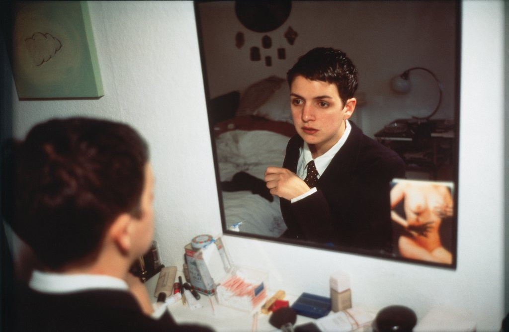 Siobhan in My Mirror, Berlin, Nan Goldin