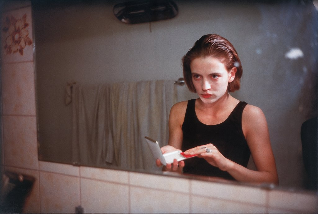 Amanda in the Mirror, Berlin, Nan Goldin