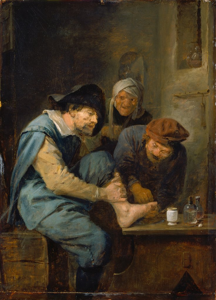 The Foot Operation, Adriaen Brouwer