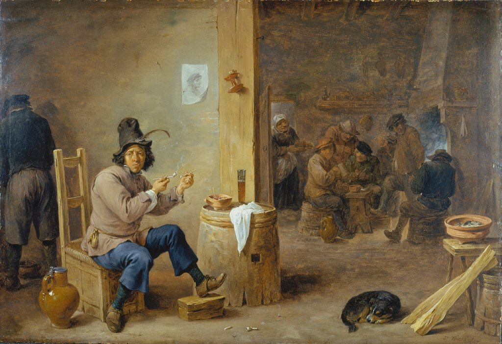 Smoker at an Inn, David Teniers the Younger
