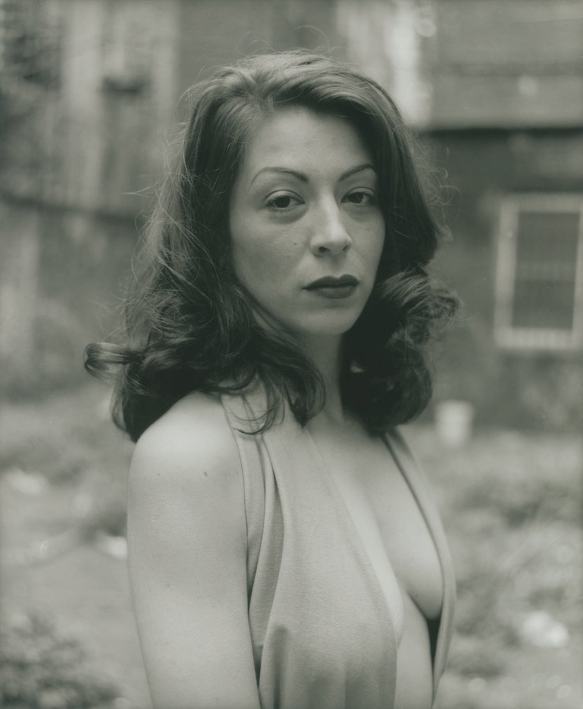 Kathleen in her Backyard, NYC, David Armstrong