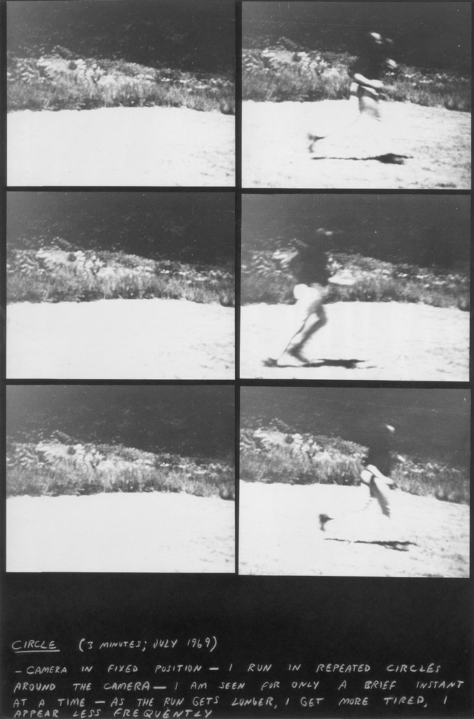 Three Frame Studies, Vito Acconci