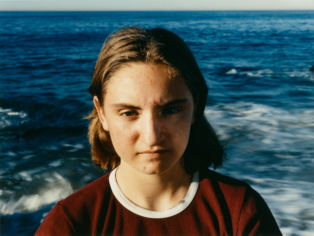 Lily, approximately 8 a.m., Pacific Ocean, Sharon Lockhart