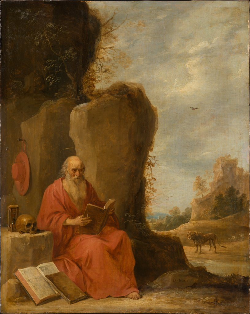 St Jerome in the Desert, David Teniers the Younger