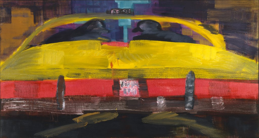 Yellow Cab, Rainer Fetting