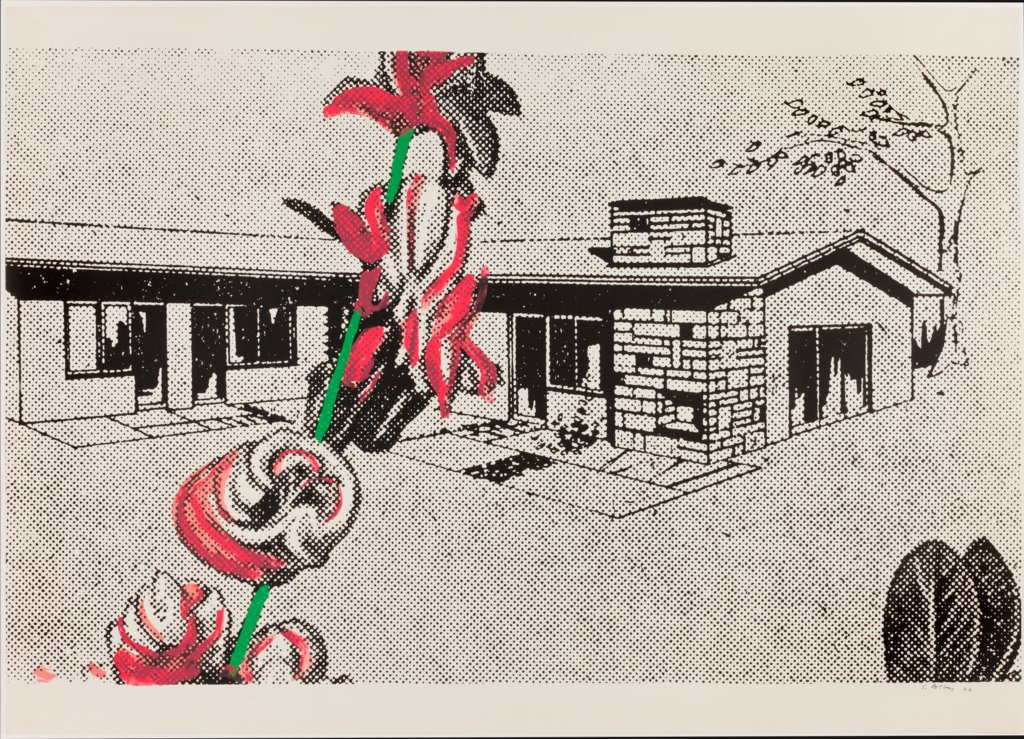 "Weekend House From the portfolio ""Graphics of Capitalist Realism"", Sigmar Polke"