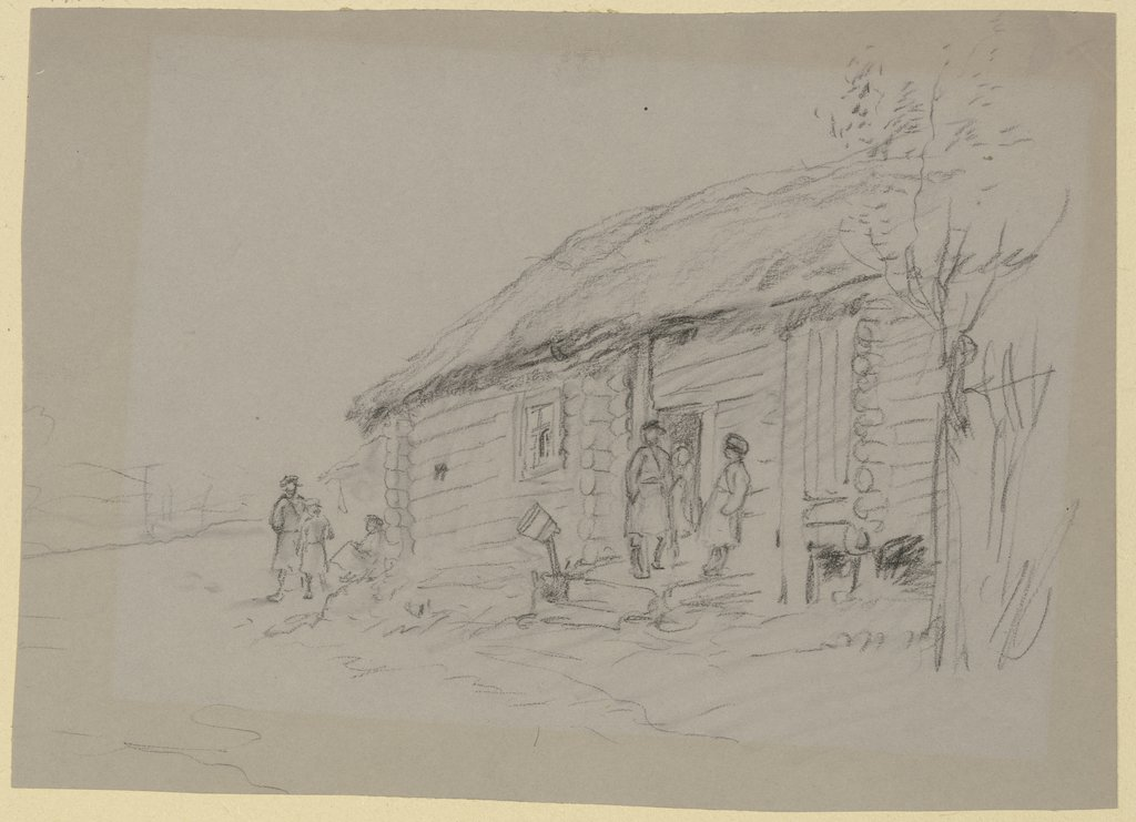 Russian block house, Wilhelm Amandus Beer