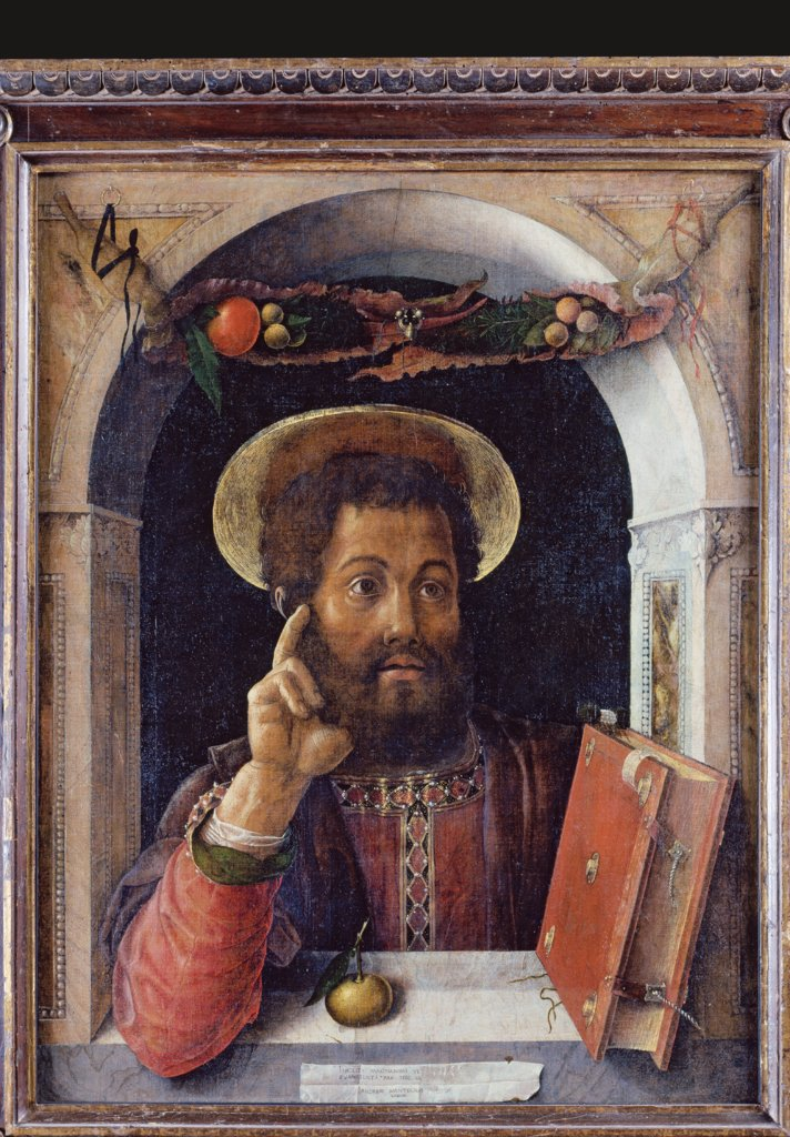 St Mark the Evangelist, Andrea Mantegna