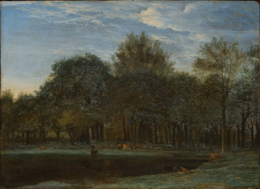 Forest Clearing with Grazing Deer, Adriaen van de Velde