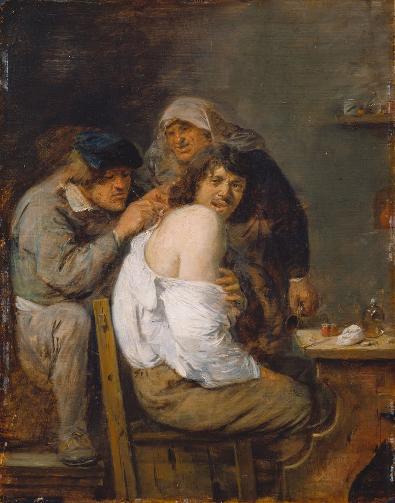 The Back Operation, Adriaen Brouwer