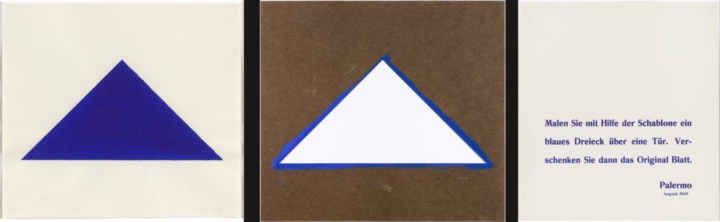 Blaues dreieck digitale sammlung for Bauanleitung cd sta nder