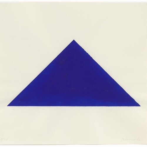Blue Triangle, Blinky Palermo