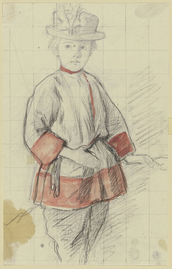 Boy with the red sleeves, Jakob Becker